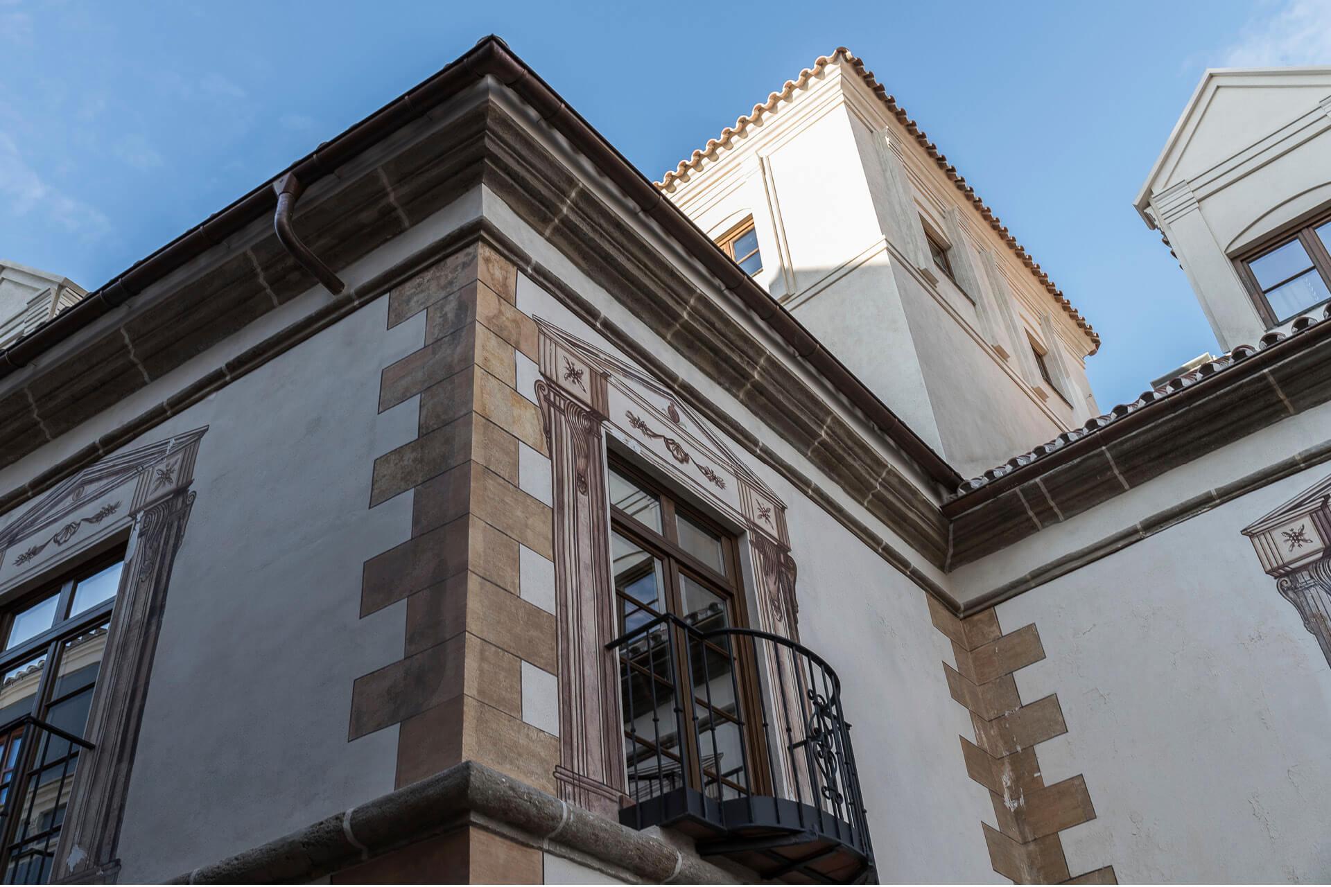 Palacio Solecio Façade