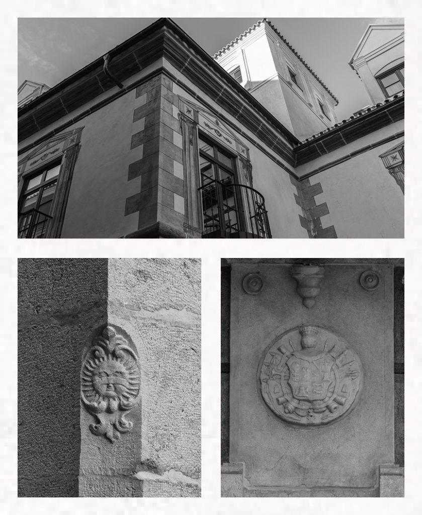 Historic Details Façade Palacio Solecio