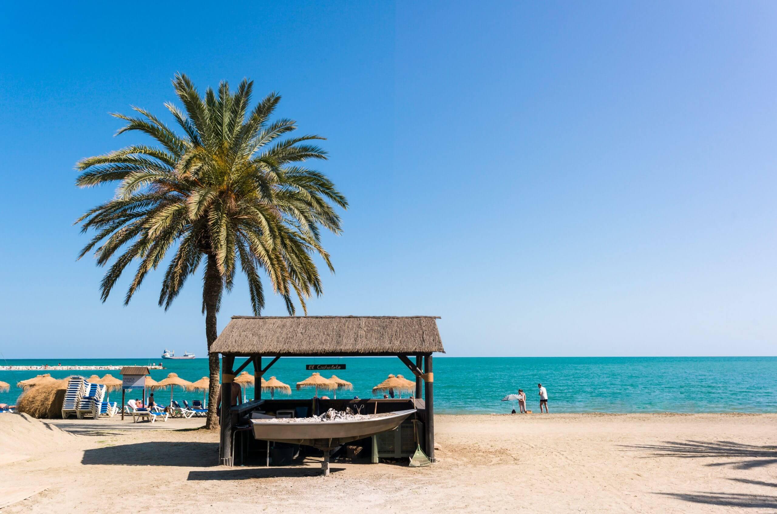Las 5 mejores playas de Málaga