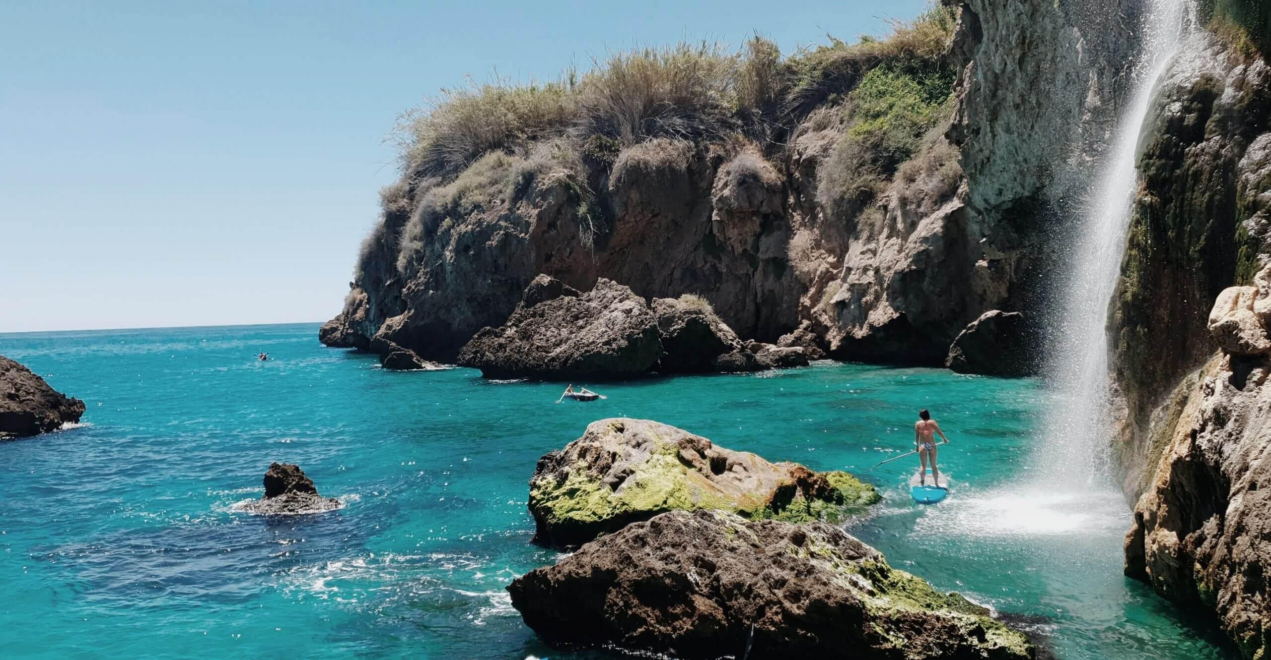 Top 5 beaches in Málaga.